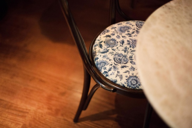 Delicate fabrics accentuate Eastern elegance.