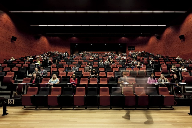 A large lecture theatre.