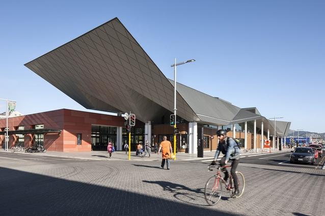 Public Architecture category finalist: Christchurch Bus Interchange/Whakawhitinga Pahi by Architectus.