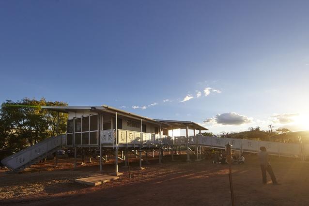 Djilpin Arts Pavilion by Insideout Architects, Tania Dennis.