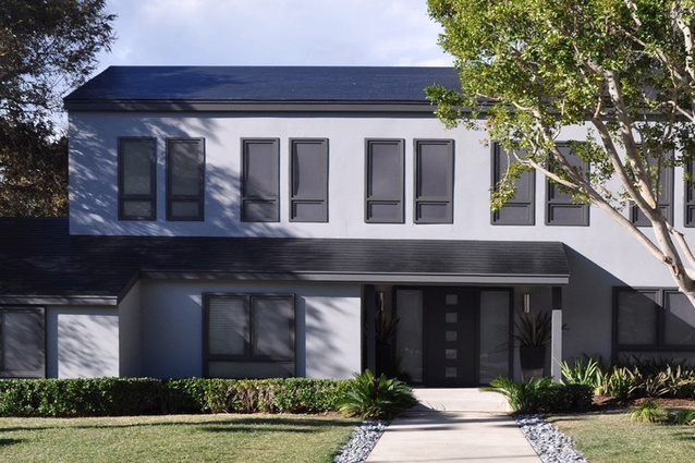 Tesla and SolarCity's new solar roof tile technology.