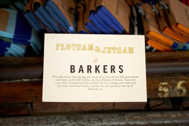 Flotsam & Jetsam's industrial style gives Barkers a new edge.