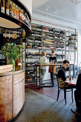 Marion Wine Bar (Fitzroy, Victoria) by IF Architecture