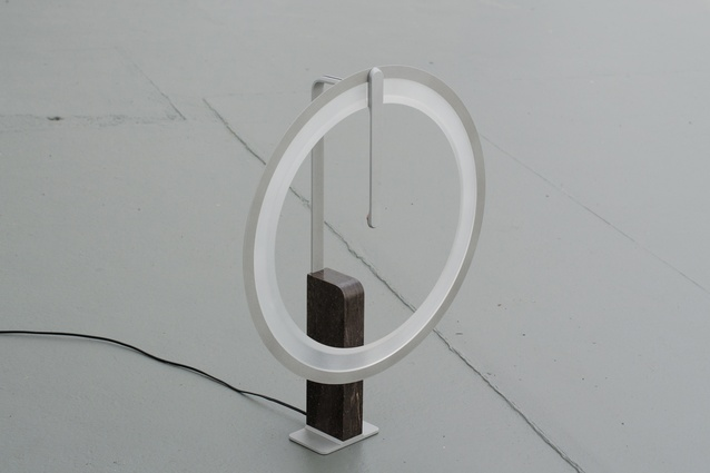 The io Lamp, unlit.