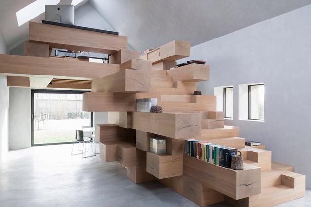 Residential office in Flanders, Belgium by Studio Farris.