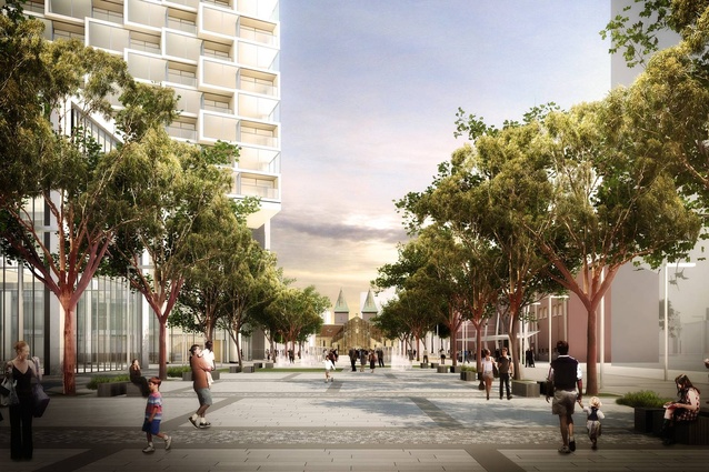 The Parramatta Square project consists of six development phases, with at least six commercial, civic and residential buildings planned.