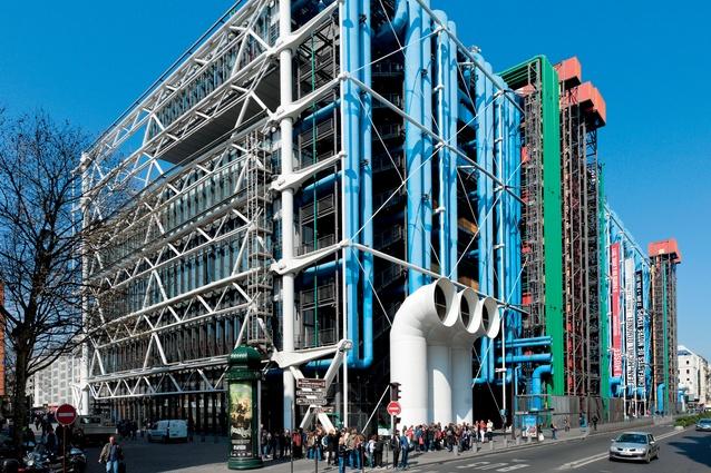 Centre Pompidou, Paris, France.