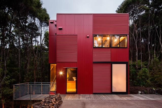 Finalist, Completed Buildings (House): The Red House by Crosson Architects.