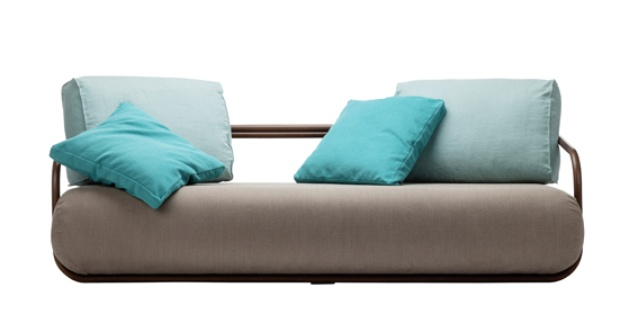 Bentwood Sofa 2002 by Christian Werner for Thonet.