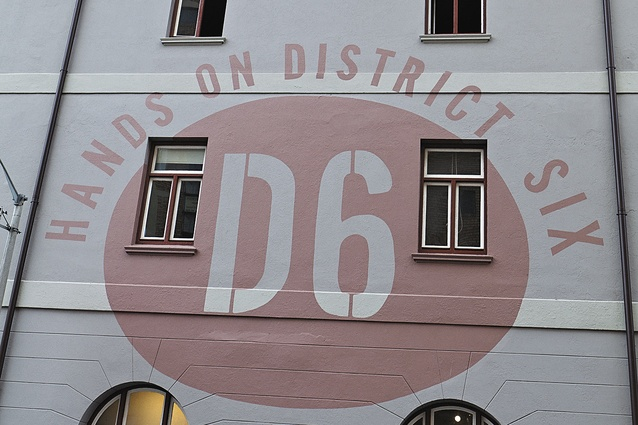Hands on District Six Museum, one of Pather's public art spaces.