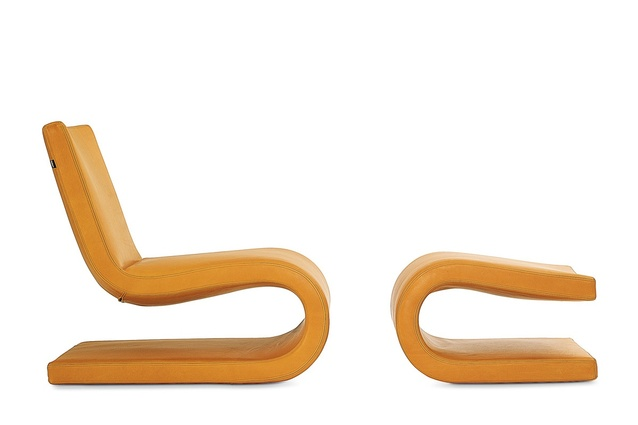 Poliform Snake armchair.