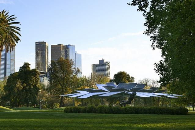 MPavilion by Sean Godsell Architects.