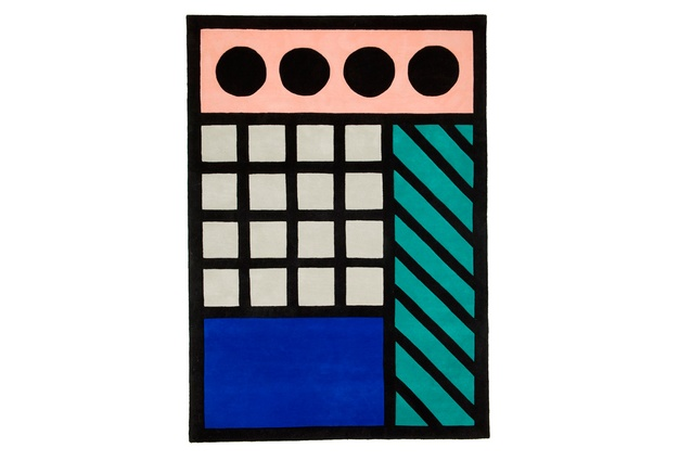 Aria rug by Camille Walala I $1,425 from 