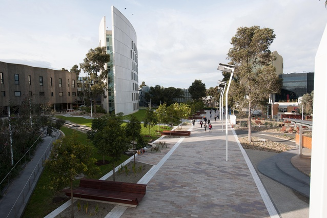 Deakin University Central Spine Precinct by Rush\Wright Associates.
