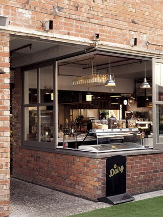 Ponsonby Central's Dairy, but in this instance it's not quite New Zealand's own take on the corner store. Here it is an ice cream parlour, cheese monger, larder and deli-style café.