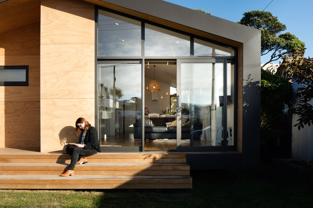 Small Project Architecture winner: Seatoun House by First Light Studio.