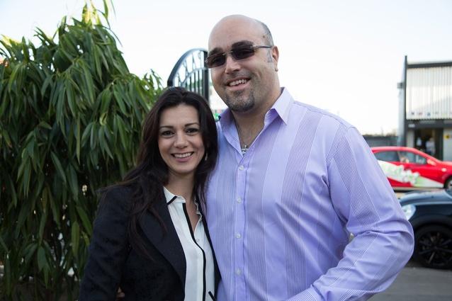 Heba and Maurizio of spazioCasa.