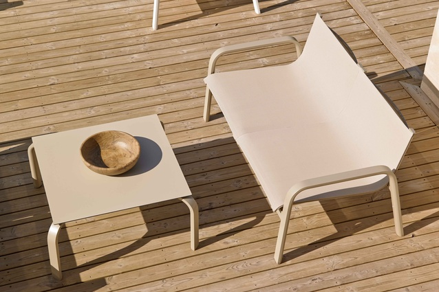 Stack outdoor furniture from Gandia Blasco.