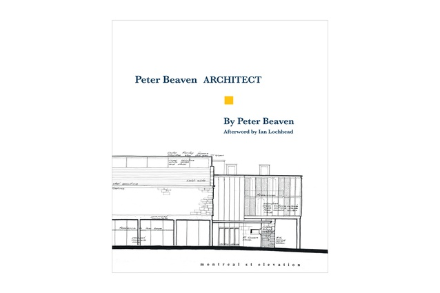 The cover of <em>Peter Beaven ARCHITECT</em> by Peter Beaven.