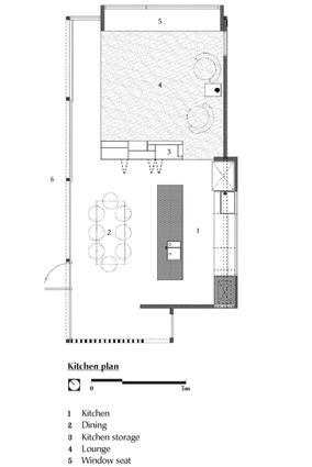 Kitchen plan.