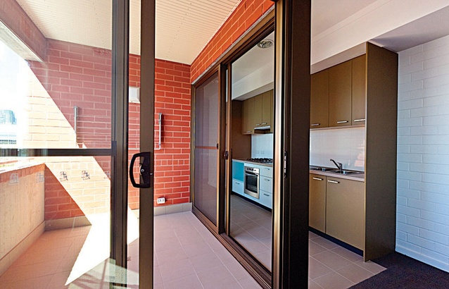 Detailed sliding doors allow the balconies to transform into extensions of the living areas.