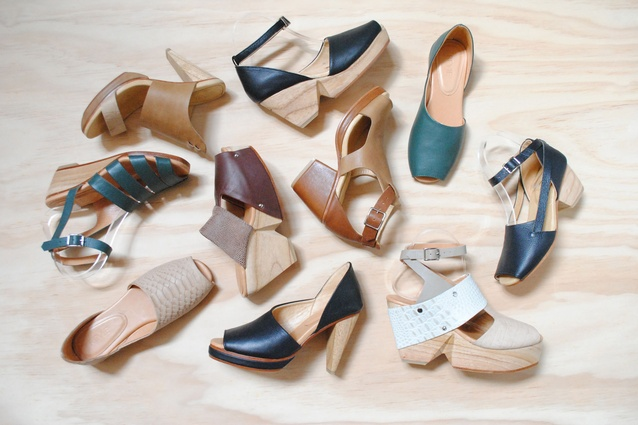 Katie Revie launched her eponymous range of footwear in March 2014.