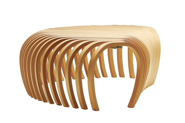Ribs Bench by Stefan Lie.