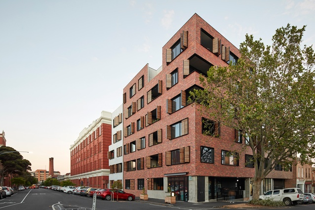 Peel and Oxford by Jackson Clements Burrows Architects.