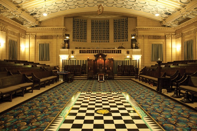 Masonic Memorial Temple.