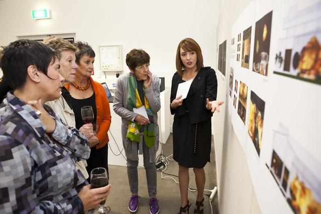 Amanda Gore presents her work.