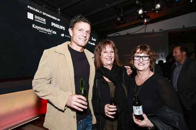L to R: Geoff Manks, Sandy Wallace, Janene Gillon.