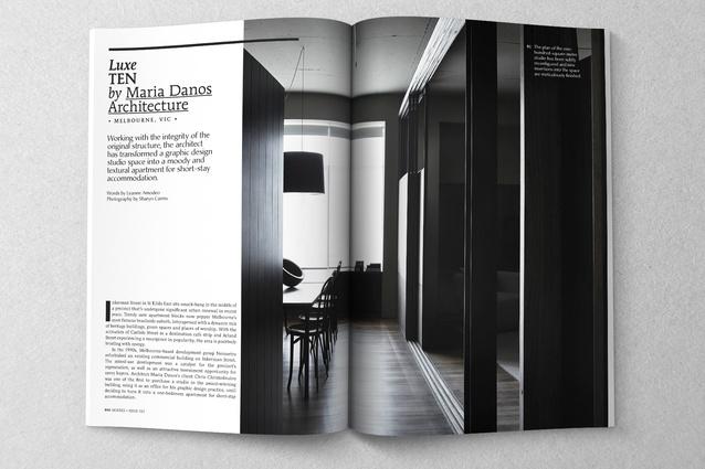 Luxe Ten by Maria Danos Architecture.