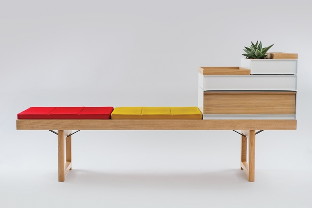 Urbis feature the 1962 designed Krobo bench