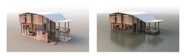 Flood House by Cox Rayner.