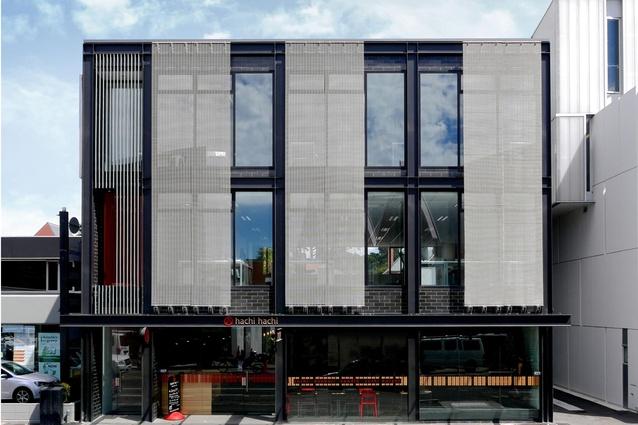 Five Storied Building Design