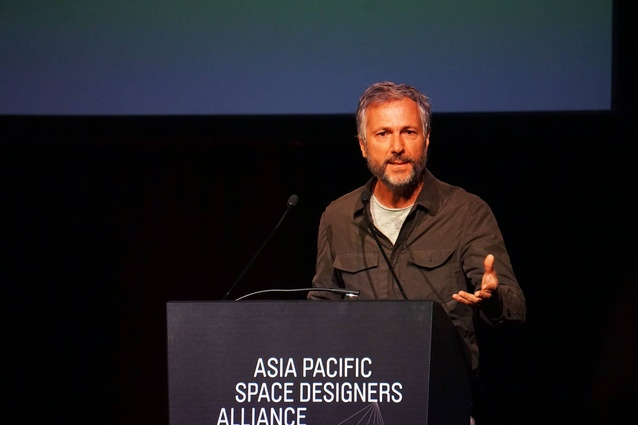 Humberto Campana presents at APSDA 2016.