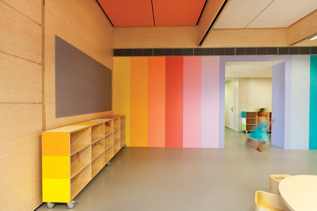 John Septimus Roe Anglican Community School (JSRACS) Kindergarten – Beechboro Campus by Brooking Design Architects.