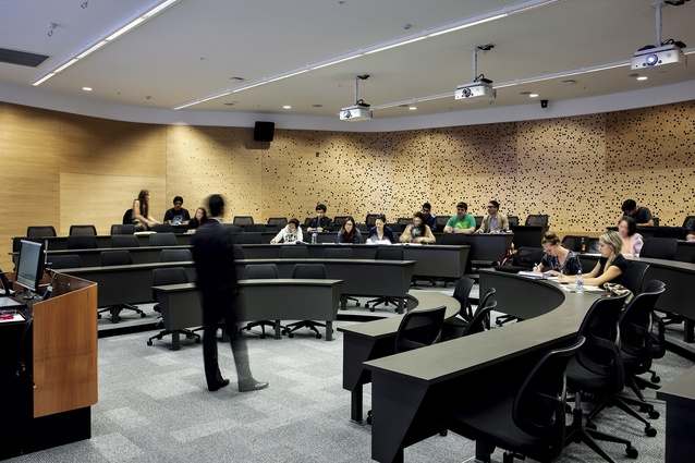 A smaller lecture room.