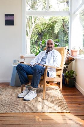 Prak Sritharan at home.