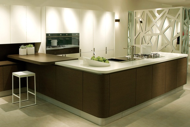 Staron solid surface.