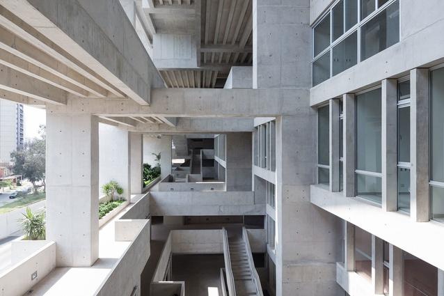 Universidad de Ingeniería y Tecnología (UTEC) by Grafton Architects.