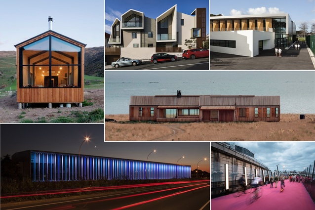 Selected winners in the 2016 New Zealand Architecture Awards.