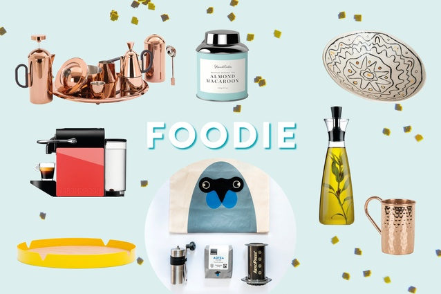 Gifts for the foodie.