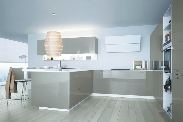 Kyton kitchen from Poliform.