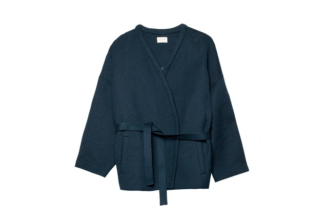 "Fern jacquard jacket | <a href=""http://www.gormanshop.com.au/clothing/just-in/fern-jacquard-jacket.html"" target=""_blank""><u> $315 from Gorman.</u></a>"