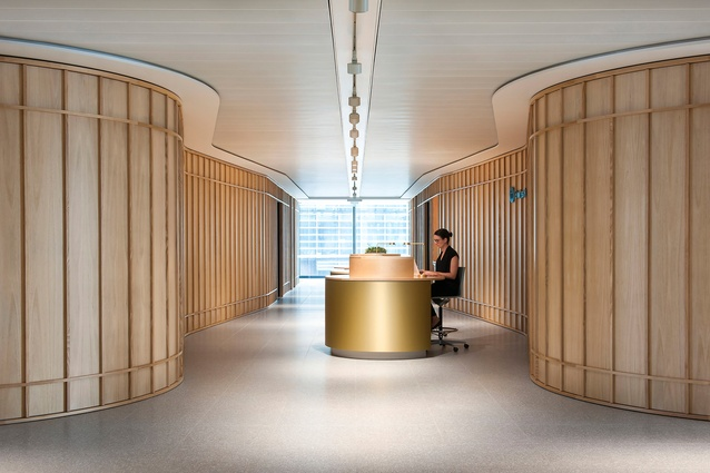 Swiss Re, Sydney by HASSELL.