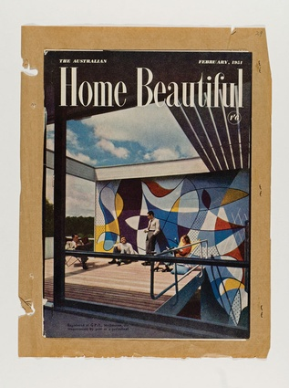 <em>Home Beautiful</em>, featuring the Rose Seidler House on its cover, February 1951.