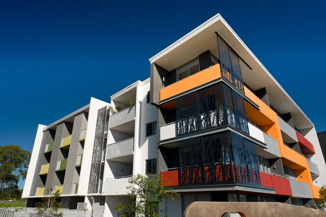 Fitzgibbon Core Apartments by Arkhefield.