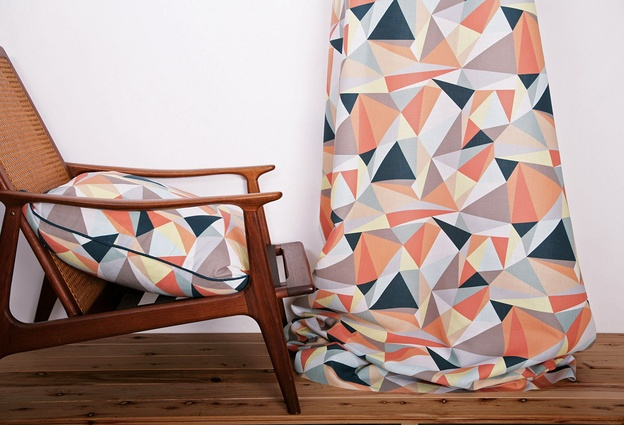 "Casso Safari fuses ""old-school geometries"" with hand-painting."