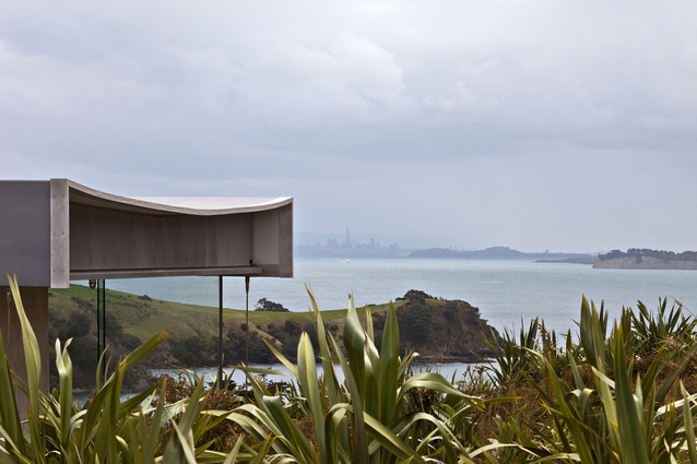 Island Retreat by Fearon Hay Architects.